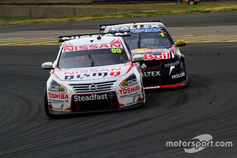 James Moffat, Nissan Motorsports and Jamie Whincup, Triple Eight Race Engineering Holden