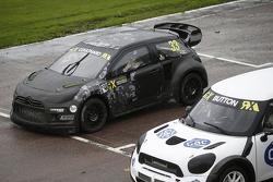 David Coulthard und Jenson Button
