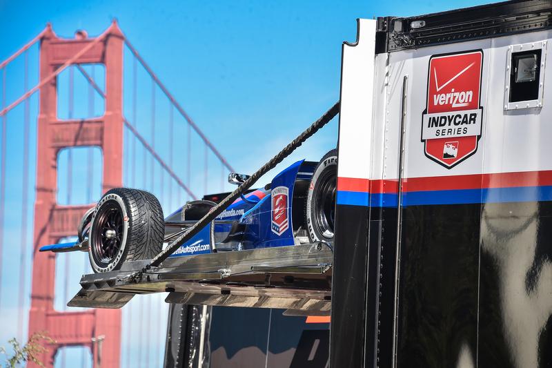 Andretti Autosport mobil dari Justin Wilson