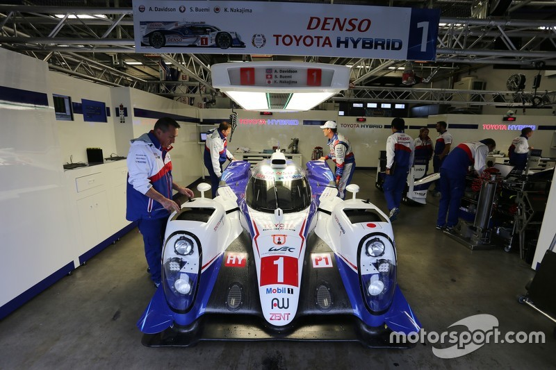 #1 Toyota Racing Toyota TS040 Hybrid