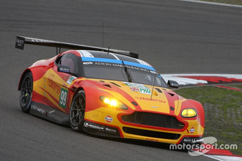 #99 Aston Martin Racing V8 Aston Martin Vantage GTE: Fernando Rees, Alex MacDowall, Richie Stanaway