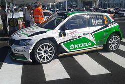 La Skoda Fabia R5 di Umberto Scandola, Skoda Motrosport Italia