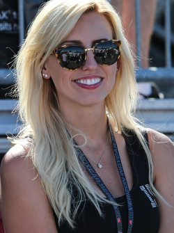 Courtney Force, Fiance of Graham Rahal, Rahal Letterman Lanigan Racing