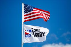 Bandera de los Estados Unidos, bandera de IndyCar