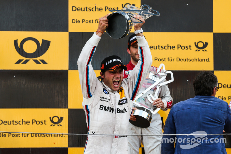 Podium: 2nd Bruno Spengler, BMW Team MTEK BMW M4 DTM