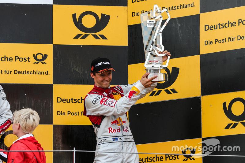 Podium: 3rd Mattias Ekström, Audi Sport Team Abt Sportsline, Audi A5 DTM