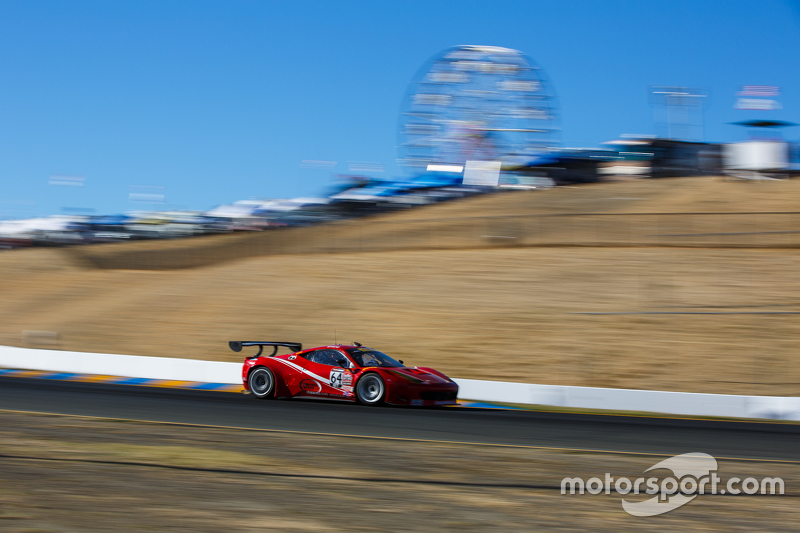 #64 Scuderia Corsa Ferrari 458 Italia: Duncan Ende