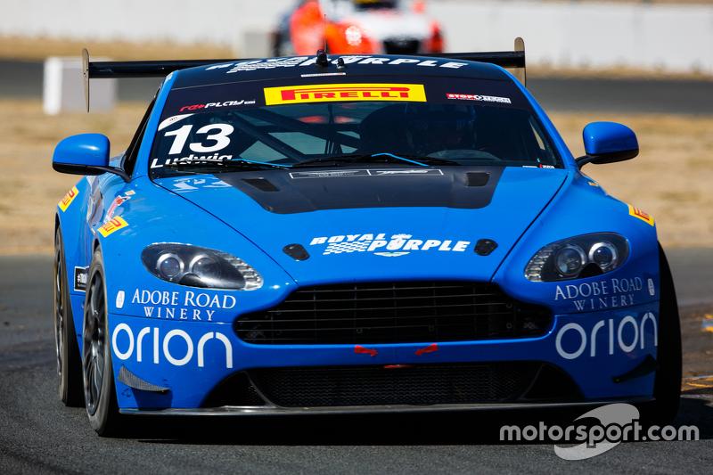 #13 TRG-AMR Aston Martin Vantage GT4: Peter Ludwig