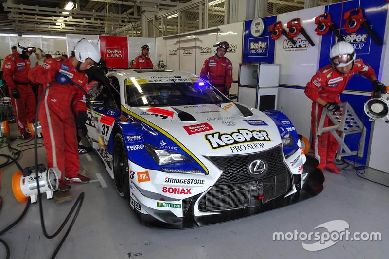 #37 Lexus Team KeePer Tom's Lexus RC F: Akira Hirakawa, Andrea Caldarelli