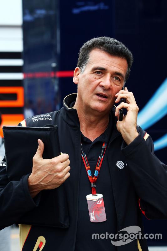 Federico Gastaldi, Lotus F1 Team afgevaardigd teamhoofd