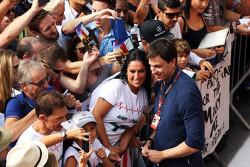 Toto Wolf, Mercedes AMG F1 met de fans