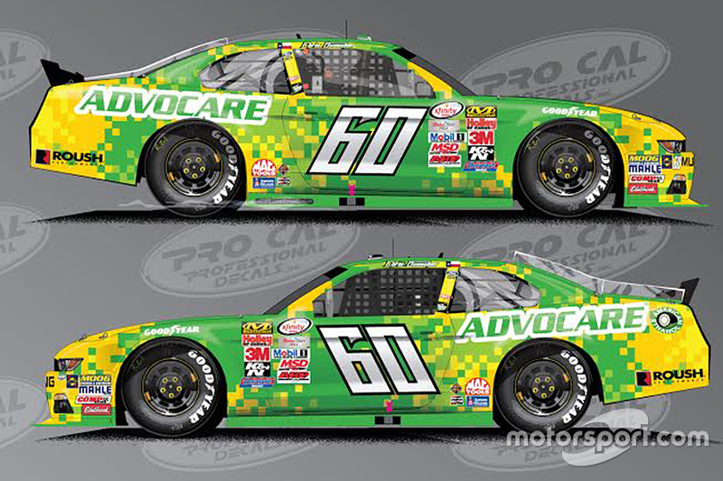 Новий спонсор Advocare для Кріс Бюшер, Roush Fenway Racing Ford