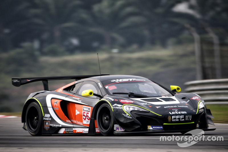 #55 FFF Racing McLaren GT3: Hiroshi Hamaguchi, Tonio Liuzzi