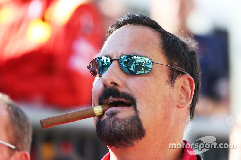 Racing Engineering team boss Alfonso de Orléans-Borbón