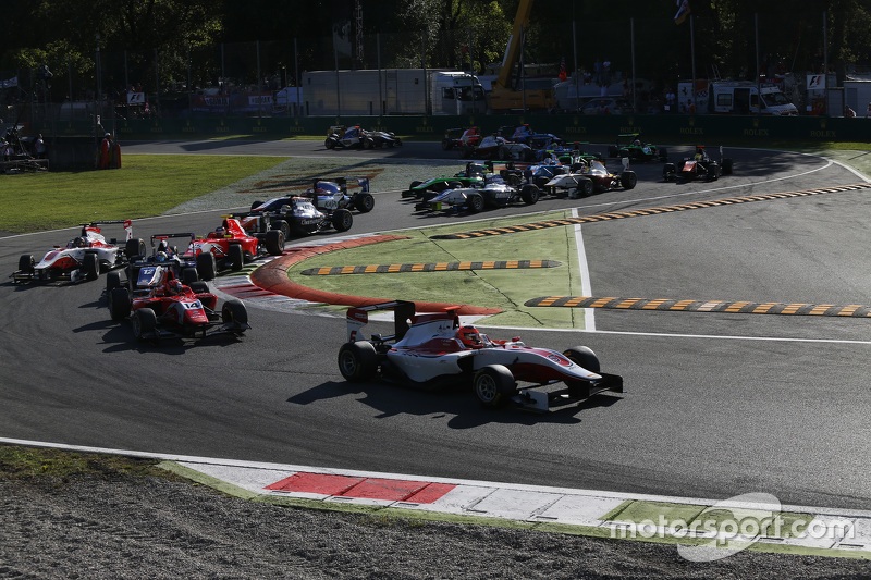 GP3 2015 – Монца, первая гонка