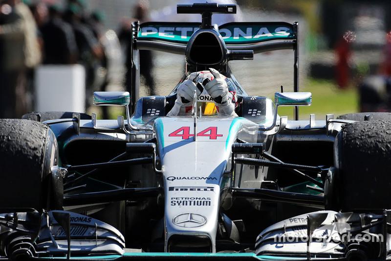 Sieger Lewis Hamilton, Mercedes AMG F1 W06
