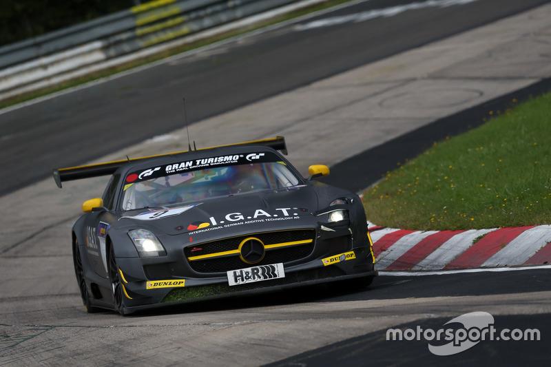 #9 Rowe Racing Mercedes-Benz SLS AMG GT3: Nico Bastian, Маро Енгел