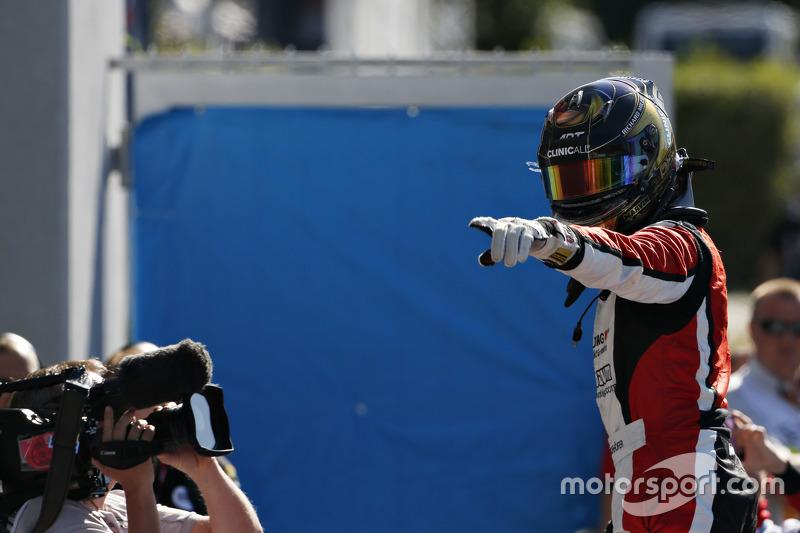 Race 2 winner Marvin Kirchhofer, ART Grand Prix