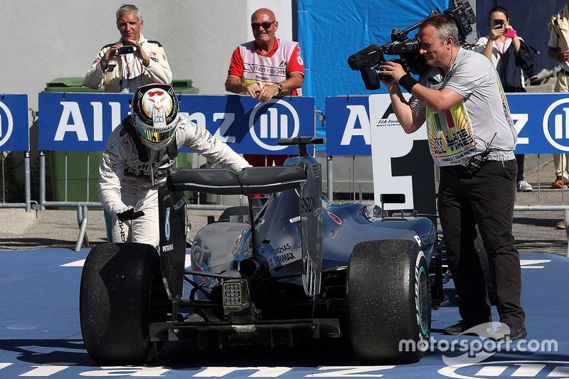Race winner Lewis Hamilton, Mercedes AMG F1 W06