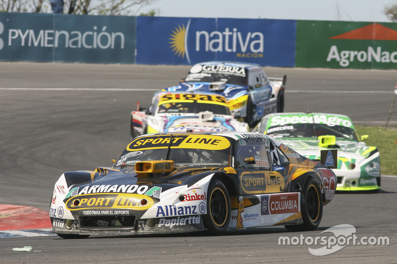 Leonel Pernia, Las Toscas Racing Chevrolet and Agustin Canapino, Jet Racing Chevrolet and Mauricio L