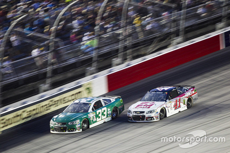 Mike Bliss ve Kurt Busch, Stewart-Haas Racing Chevrolet