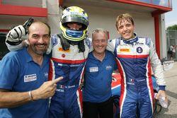 Gara 1, i vincitori Matteo Beretta e Alessio Frassineti, Ombra Racing