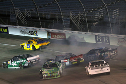 John Wes Townley, Athenian Motorsports Chevrolet e David Starr, TriStar Motorsports Toyota
