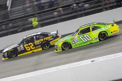 Brendan Gaughan, Richard Childress Racing Chevrolet and Chris Buescher, Roush Fenway Racing Ford