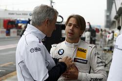 Йенс Марквардт, директор BMW Motorsport и Аугусто Фарфус, BMW Team RBM BMW M34 DTM