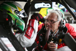 Mike Rockenfeller, Audi Sport Team Phoenix Audi RS 5 DTM with vehicle engineer Jürgen Jungklaus