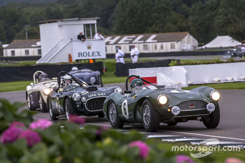 Aston Martin Db3s 1954 And Cooper Bristol T25 1953 Racing In The