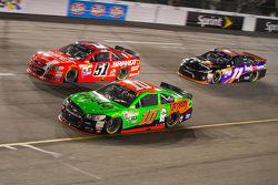 Даніка Патрік, Stewart-Haas Racing Chevrolet та Джастін Алльгайер, HScott Motorsports Chevrolet