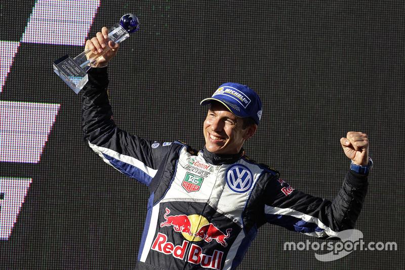1. und Rallye-Weltmeister 2015: Julien Ingassia, Volkswagen Motorsport