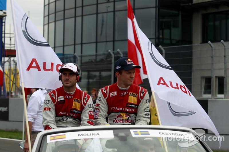 Мігель Моліна, Audi Sport Team Abt Audi RS 5 DTM та Маттіас Екстрем, Audi Sport Team Abt Sportsline,