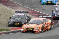 Джейми Грин, Audi Sport Team Rosberg Audi RS 5 DTM и Бруно Спенглер, BMW Team MTEK BMW M4 DTM