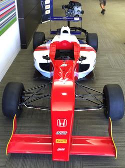 Una nuova monoposto del campionato statunitense di F4