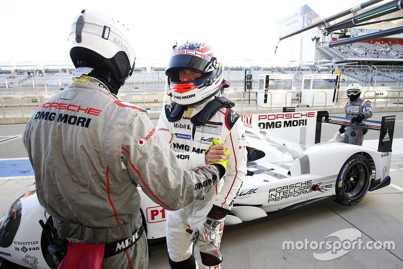 Polesitter Neel Jani, Porsche Team