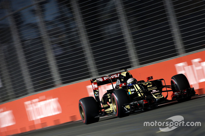 Romain Grosjean, Lotus F1 E23