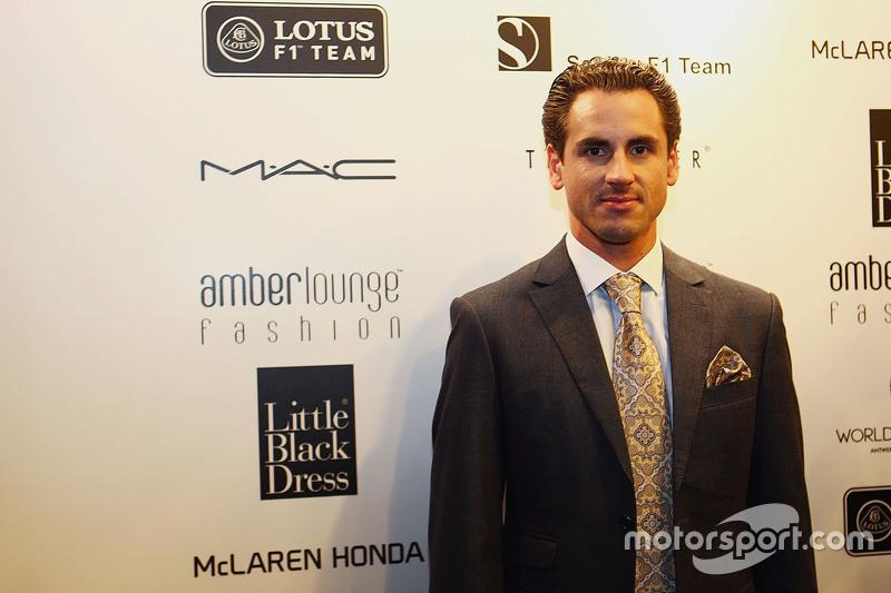 Adrian Sutil, Williams резервний гонщик at the Amber Lounge Fashion Show