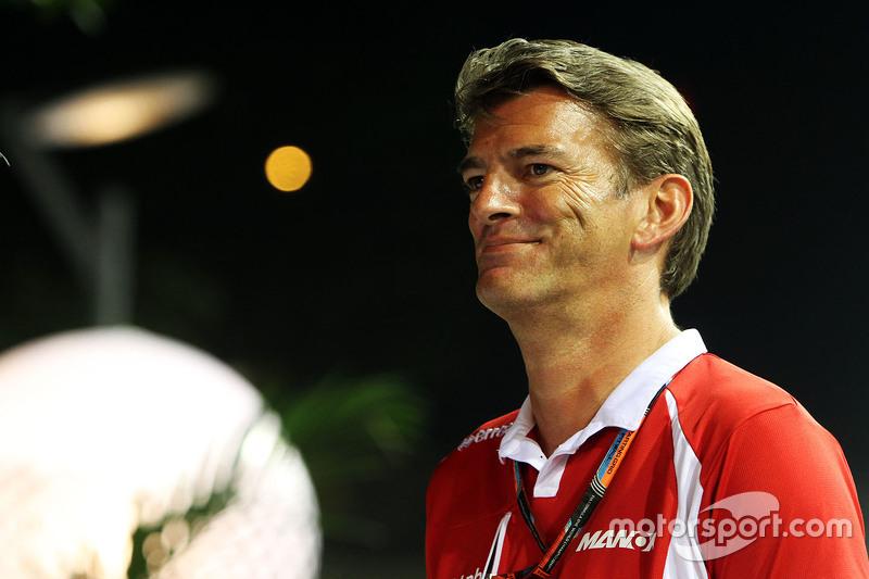 Graeme Lowdon, Manor F1 Team, Geschäftsführer