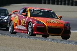 #63 Roar Racing Mazda RX-8: Joe Scarbrough, Andy Brumbaugh