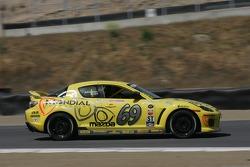#69 SpeedSource Mazda RX-8: Jose Armengol, Dan Allen