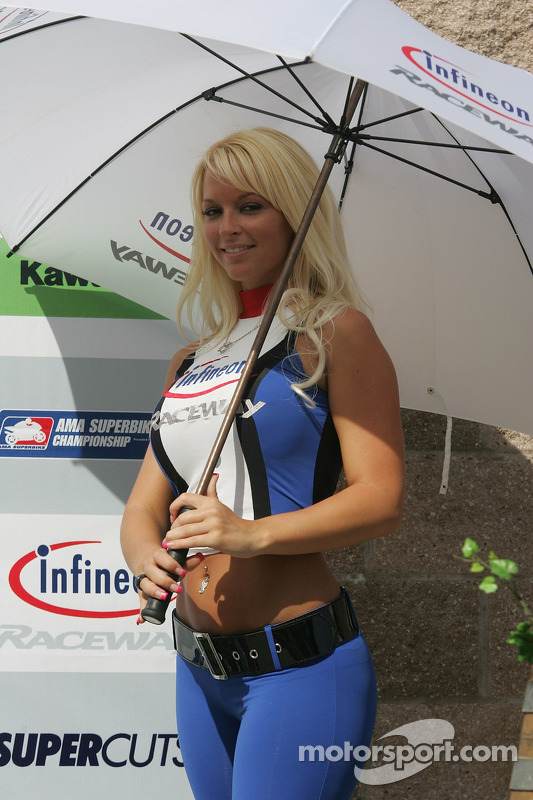 Umbrella Girl at Sears Point