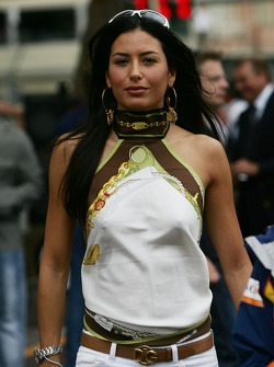 Elisabetta Gregoraci, Lingerie Model