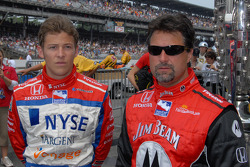 Marco Andretti et Michael Andretti