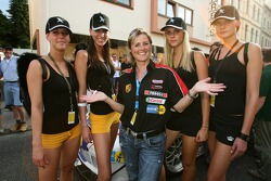 Sabine Schmitz in charming company