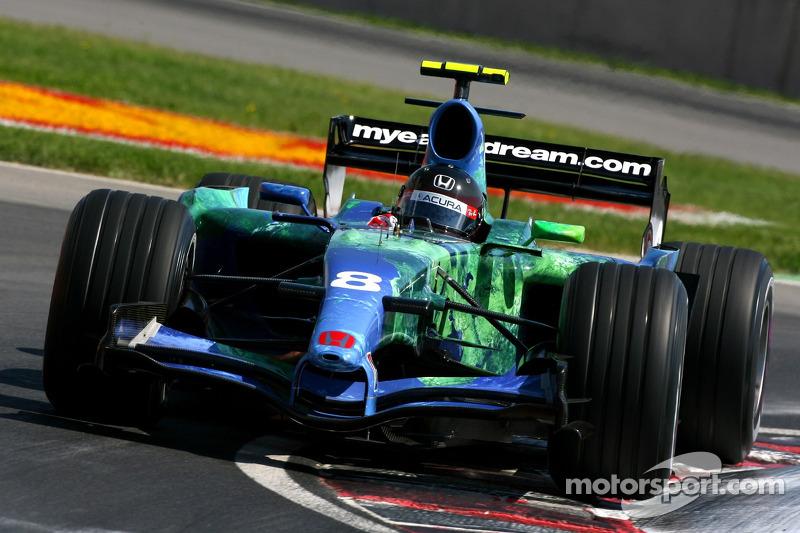 #8 : Rubens Barrichello, Honda RA107