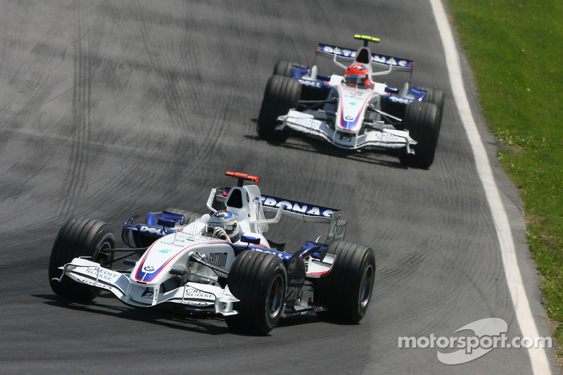 Nick Heidfeld, BMW Sauber F1 Team, F1.07, Robert Kubica, BMW Sauber F1 Team, F1.07