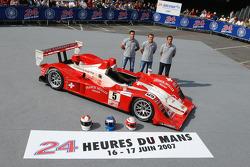 #5 Swiss Spirit Lola B07 Audi: Jean-Denis Deletraz, Marcel Fassler, Iradj Alexander-David