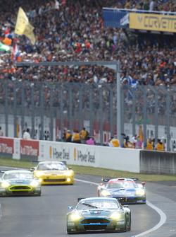 #008 Aston Martin Racing Larbre Aston Martin DBR9: Christophe Bouchut, Fabrizio Gollin, Casper Elgaard